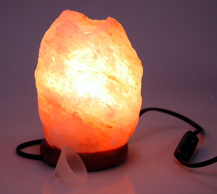 Electric Himalayan Salt Lamps : Salt Aroma Burner Electric Himalayan Natural 1-2kg Novimex Wholesale