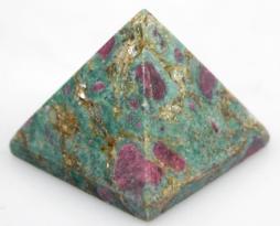 Pyramid-RUBY-ZEOSITE-