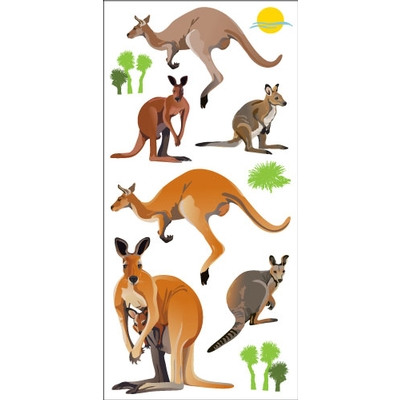 kangaroo_wall_art