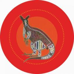 Aboriginal-Kangaroo